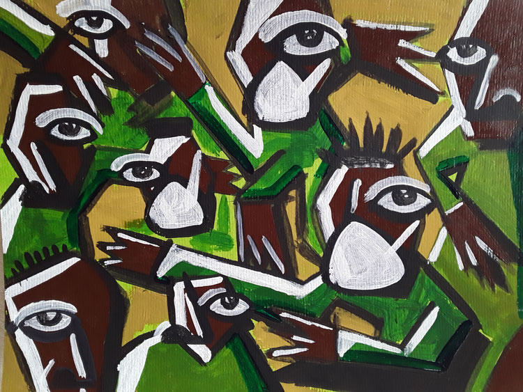 browse collect South African art online