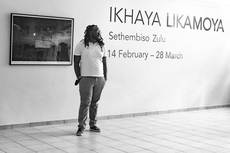 Sethembiso Zulu exhibition NWU North West University Gallery