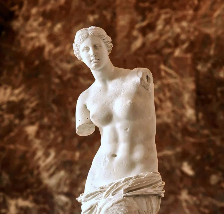 louvre museum online digital Venus de Milo