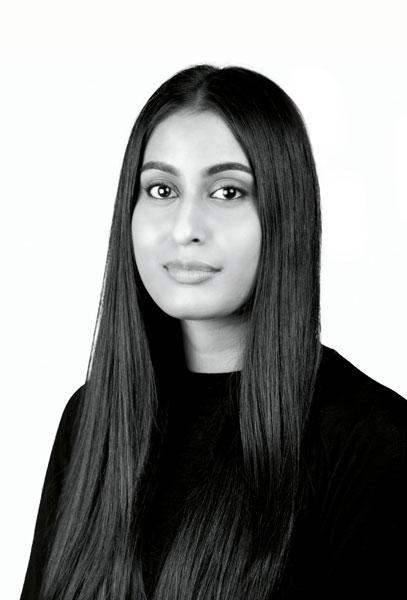 fashion designer Kiara Gounder