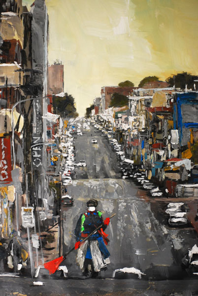 Thabang Lehobye Joburg city art