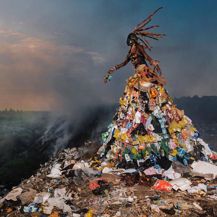 Fabrice Monteiro environmental art