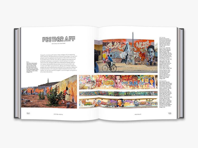 Cale Waddacor grafitti street art africa book