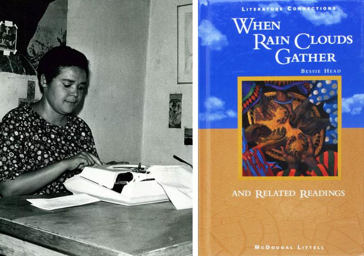 Bessie Head When Rain Clouds Gather African writer book