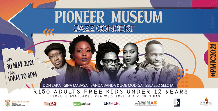 friendly Jazz concert Celebration Pioneer Museum DITSONG