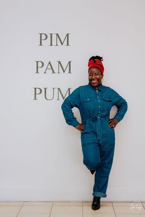 Helena Uambembe NWU Gallery exhibition PIM PAM PUM