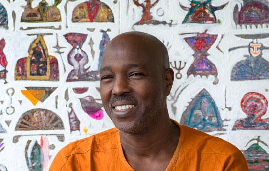 Hussein Salim exhibition Melrose Gallery