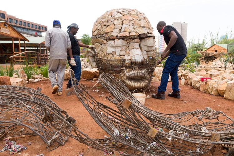 Angus Taylor sculptures