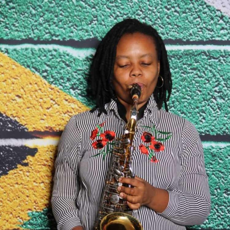 Linda Tshabalala jazz alto saxophonist composer new album Convergence