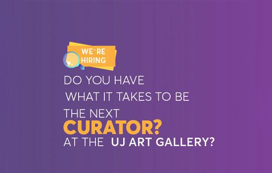 UJ Art Gallery curator job position opening