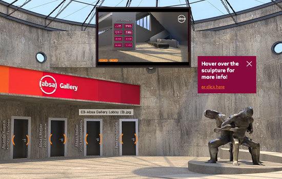 Absa Art Hot Spot virtual gallery