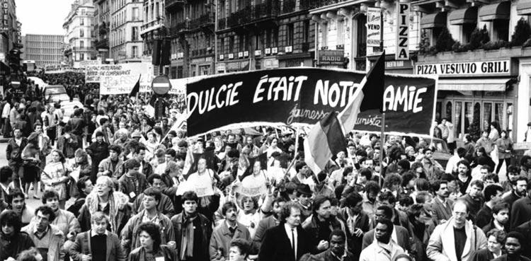 Dulcie September demonstration