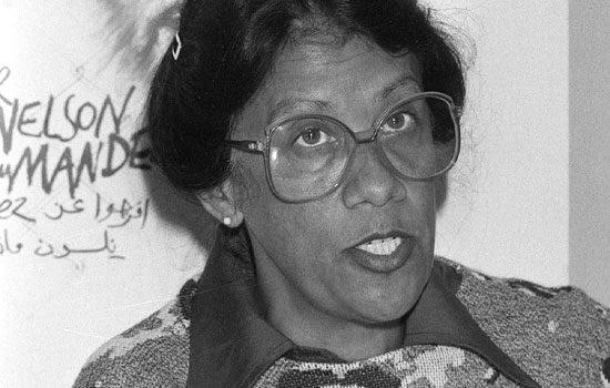 anti-apartheid activist Dulcie September