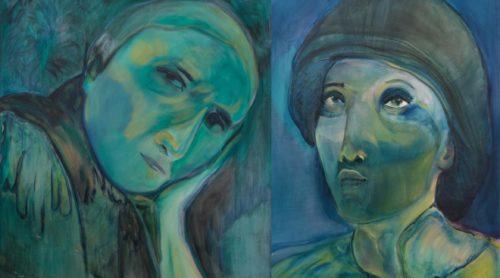 David Krut Projects Olivia Botha exhibition CAUGHT