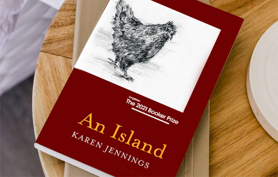 Karen Jennings novel An Island Booker Prize nominee