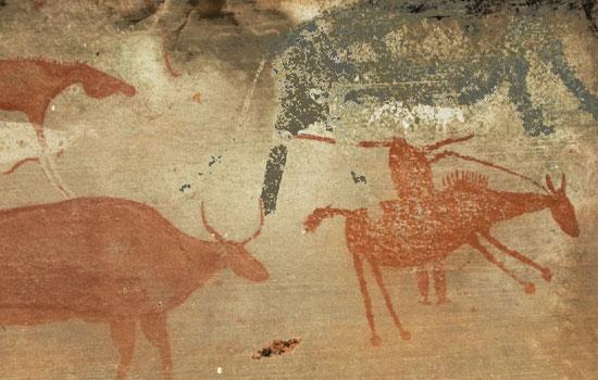 Rock art slaves colonialism