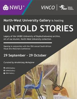 Untold Stories exhibition NWU Gallery
