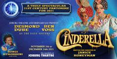 virtual events South Africa Cinderella Joburg Theatre